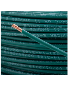 CABLE ELECTRICO THHN # 12 VERDE