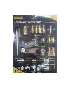 Kit Acople P/compre 14 Pz Acc014 Uyus/makawa