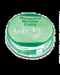 Rollo Manguera Bicolor  C/acces. 1/2'' X 15 Mt