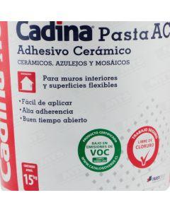 SOLCROM  ADH. CERAMICO PASTA BALDE 15 KG  QUI050
