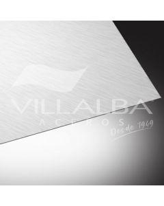 PLANCHA LISA ZINCALUM 0.4 MM X 2 MTS