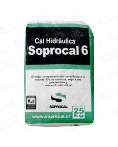 CAL HIDRAULICA SACO 25 KG