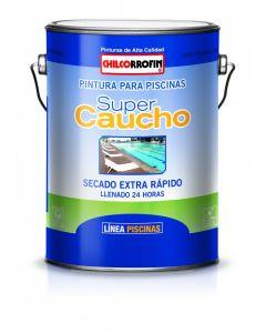 PINTURA PISCINA CHILCORROFIN S/CAUCHO AZUL GLN