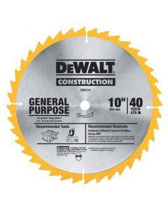 "DISCO SIERRA DEWALT 10"" 40D DW3114"