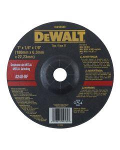 DISCO DESBASTE DEWALT DW44580 180 X 6 MM