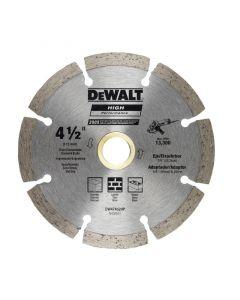 "DEWALT ACC.DISCO DIAMANT SEG. 41/2"" DW47452HP"