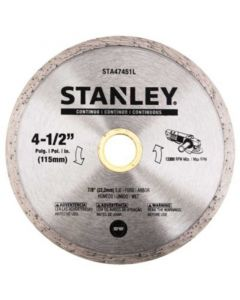 "STANLEY DISCO DIAMAN. CONTIN. 4 1/2"" STA47451L"