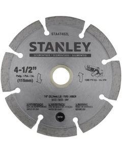 "STANLEY DISCO DIAMAN. SEGMEN. 4 1/2"" STA47452L"