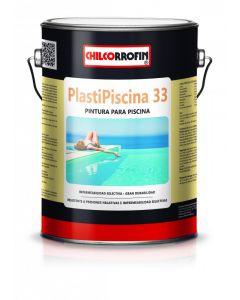 PLASTIPISCINA 33 CHILCORROFIN GRIS ACERO GLN