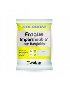 SOLCROM WEBER  FRAGUE NEGRO 1KG
