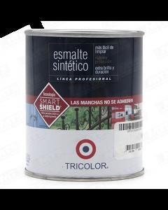ESMALTE BRILLANTE TRICOLOR GRIS MAQUINA T-40