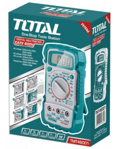 Total Multitester Digital Tmt460012