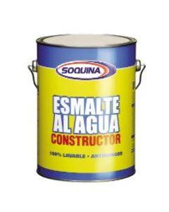Esmalte Agua Constructor Soquina Blanco Gln