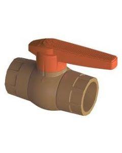 LLAVE PASO BOLA PVC HID.COMPACTA CEM. 25 MM